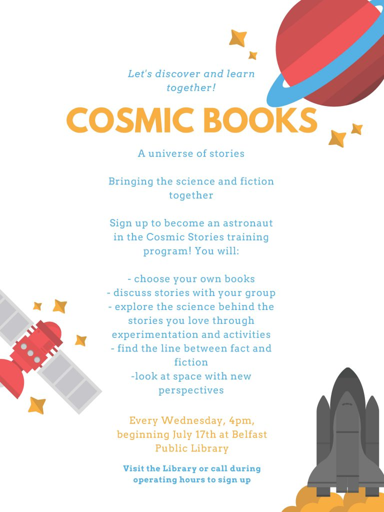Cosmic Books Reading Club